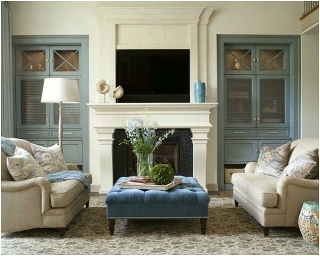 20 great fireplace mantel decorating ideas zohostone for How to decorate living room with fireplace